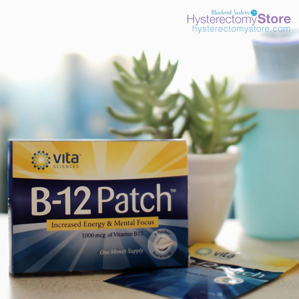 B-12 patches help with some symptoms during menopause