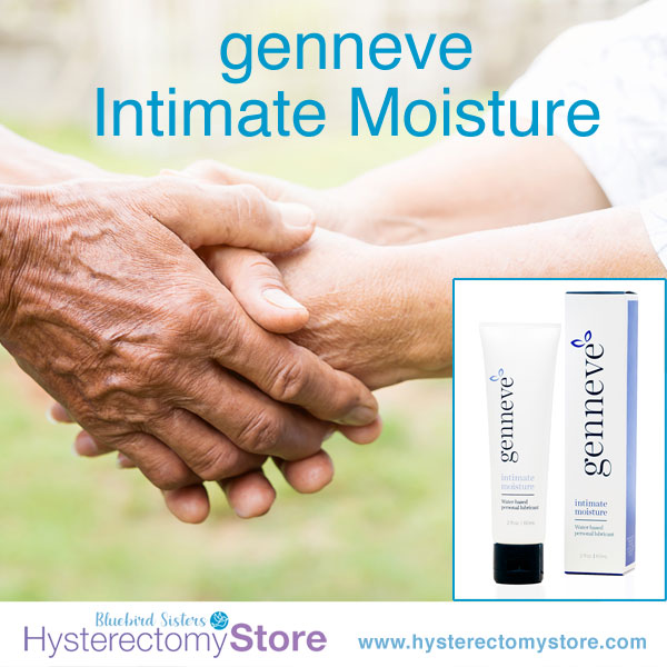Genneve Intimate Moisture relieves vaginal dryness during menopause