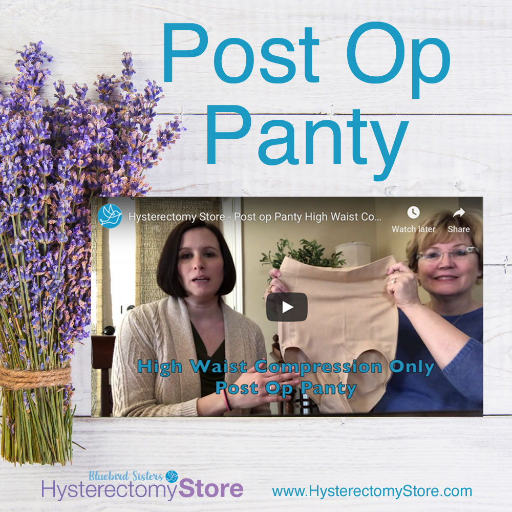 Post-Op Panty for Hysterectomy and c-section surgery tummy