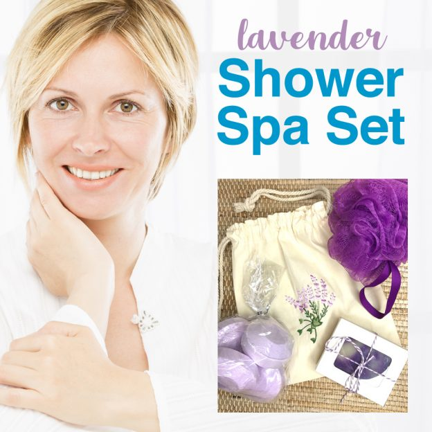 Shower steamers and soap set at HysterectomyStore