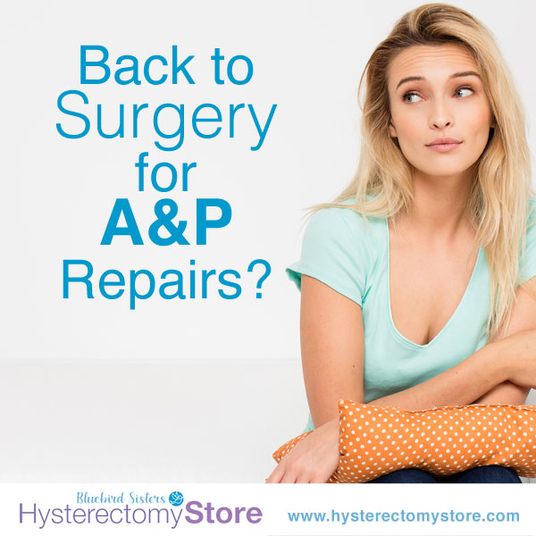 surgery for a&p repairs