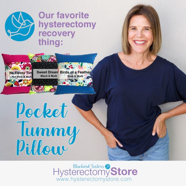 tummy pillow for hysterectomy recovery