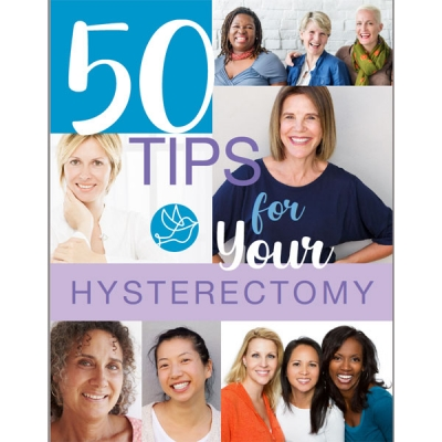 50 Tips for Your Hysterectomy Recovery (eBook)