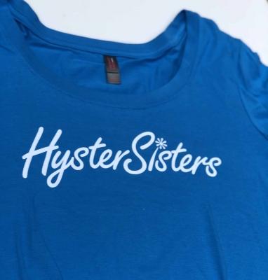 HysterSisters Blue Logo Shirt