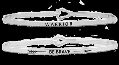 Inspirational Bangle Bracelet