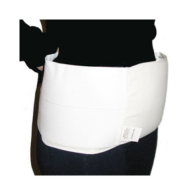 The pocket hysterectomy binder provides cooling compression against your tender tummy after your hysterectomy and comes with 2 cold/hot packs.