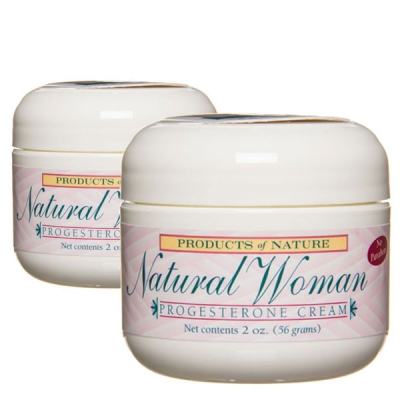 Natural Woman Progesterone Cream - Value Package