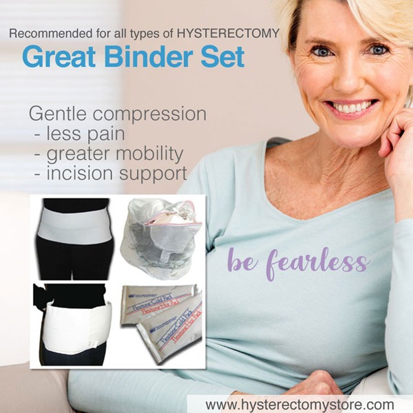 The Great Binder Set For Hysterectomy Recovery