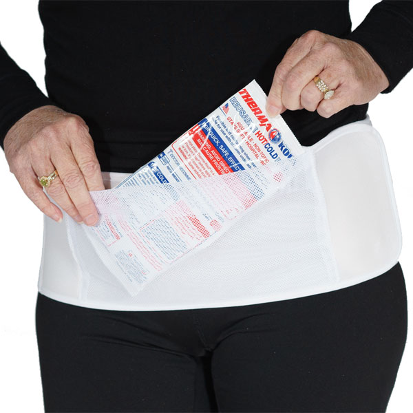 Perfect Pocket Abdominal Binder With 2 Cool Packs For