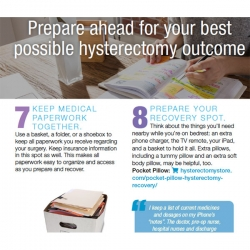 50 tips for your Hysterectomy downloadable ebook
