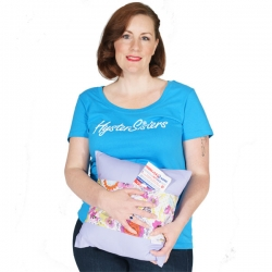 Hysterectomy pocket pillow comes with 2 cold packs and feels good on your sore tummy after hysterectomy