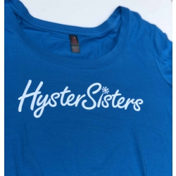 HysterSisters Blue Logo Shirt