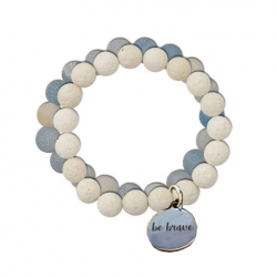 Natural Stone Diffusion Bracelet